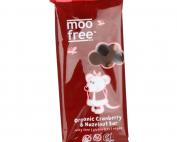 VeganFabulous - MooFree - Organic Cranberry And Hazelnut Bar