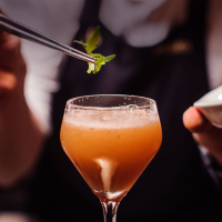 VeganFabulous Greek Tapas Night At La Raza - La Raza Cocktails